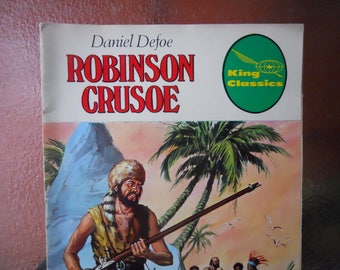 1979 Robinson Crusoe Kings Classics Comic Book