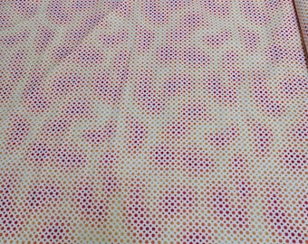 Ombre Dots-Orange Cotton Fabric from Quilting Treasures