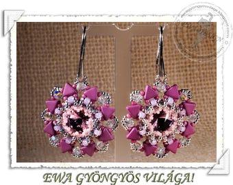 Agna earrings PDF pattern