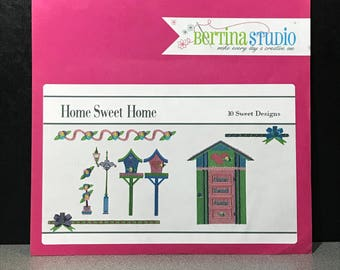 Bertina Studios Home Sweet Home Embroidery Designs