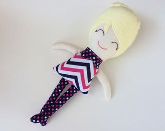 SALE - Heidi - Handmade Doll
