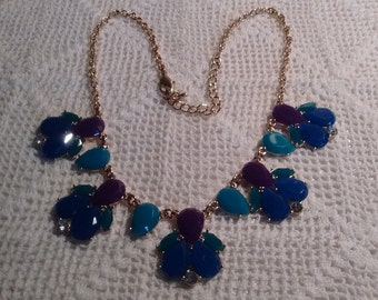 Bright Statement Necklace: