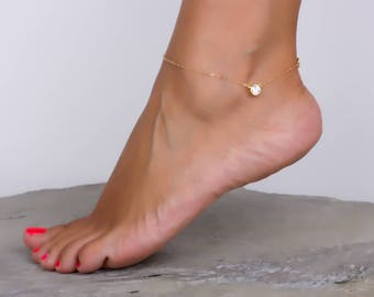 beach silver bracelet jewelry anklet rose media ankle gold