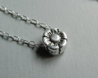 Tiny Cherry Blossom Necklace