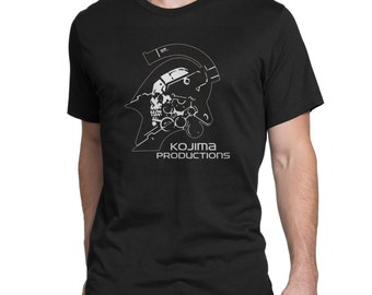 Kojima Productions Logo T-Shirt Black MEN/WOMEN