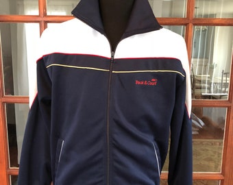 Vintage 1990's Track and Court Warm Up Jacket