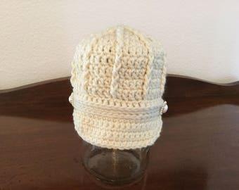 Newsboy Hat Crochet