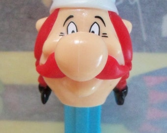 Vintage / Obelix PEZ Candy Dispenser / From Foreign-issued European Asterix Comics