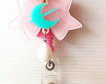Sailor Neptune Lip Rod badge reel