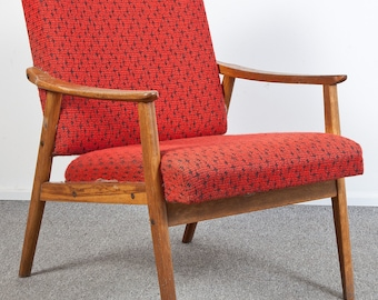 Czech vintage armchair from the 60's.