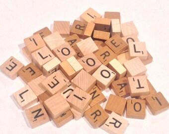 Mini Travel Scrabble Tile - Your Choice of Letter