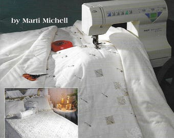 Learn to Machine Quilt in Just One Weekend by Marti Michell