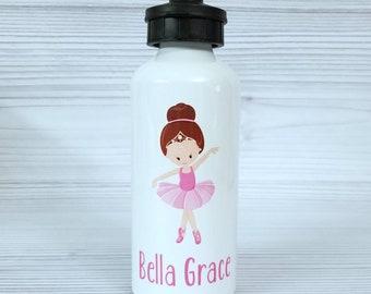 Dance water bottle. Custom Aluminum water bottle, personalized water bottle, Dance gift, ballet water bottle, team gift, ballet gift