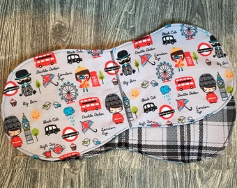 London Town Burp Cloth