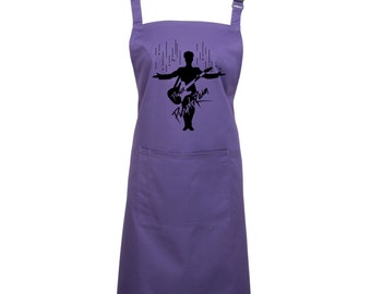 Prince Purple Rain Kitchen & Baking Apron - 16 Colours, 1076