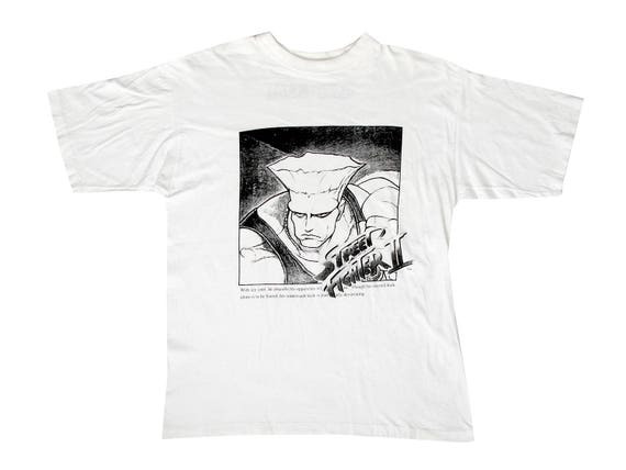 Vintage Street Fighter 2 Guile T-Shirt