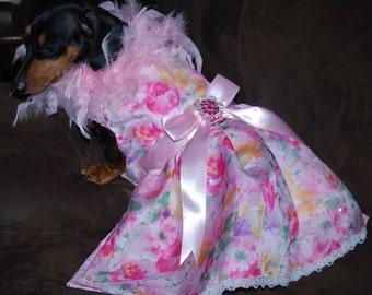 The Rainbow Rose Dress