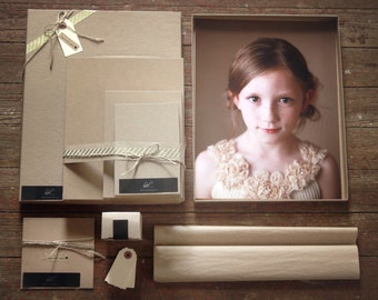 Ultimate Photography Packaging Kit-  for 8x10 prints
