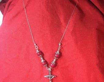 crucifix necklace