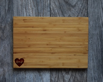 Engraved Cutting Board, Cutting Board, Personalized Cutting Board, Wedding Gift, Custom Cutting Board, Gift for Couple, Housewarming Gift