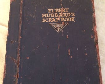 Rare Antique Elbert Hubbard Book With Misprinted Copyright Page