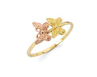 Butterfly, Butterfly ring, Gold Butterfly, Gold Butterfly Ring, butterfly jewelry, knuckle ring, Butterflies