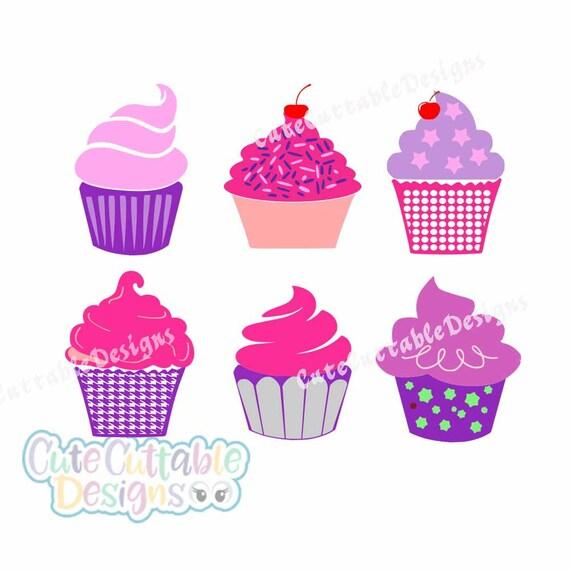 Cupcake Svg Cut Files Cupcake Cutting Files For Cricut
