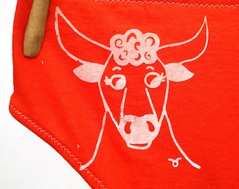 Taurus Zodiac Women's Underwear - Recycled Cotton - Made to Order