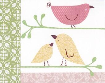 Penelope Bird Collage I - 8x10 Print