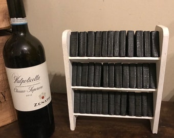 38 Leather Bound Miniature William Shakespeare books by Allied Newspapers circa 1925