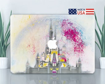Disney Macbook Case Castle Macbook Pro Hard Case Macbook 12 Inch Case Macbook Air Case 13 Inch Macbook Pro 13 Macbook Pro 15 Case CZ2043