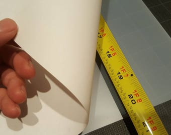 """250 Sheets - HUGE XL Shrink Plastic Sheets - 20.5""""inch x 14.5""""inch - Extra thick & strong"""