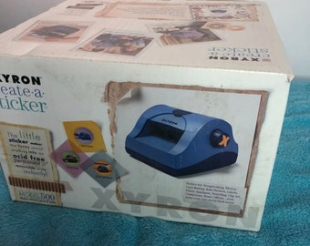 XYRON Create a Sticker Craft Scrapbooking Machine