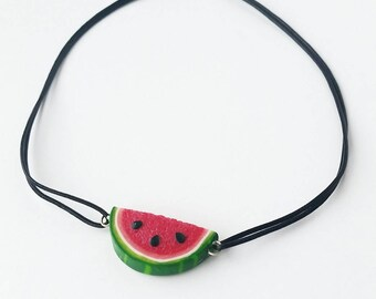 Watermelon Choker Necklace