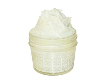 Whipped Body Butter, Natural Moisturizer, No Preservatives, Pure Essentail Oils