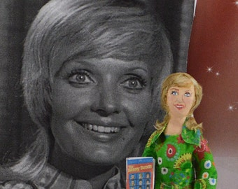 Seventies Television Star Florence Henderson Celebrity Art Doll