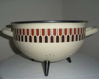Mid Century Atomic Tripod Coriander/Strainer Made in Italy