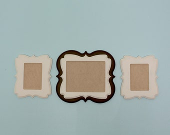 3 Piece Custom Whimsical Frame Collection