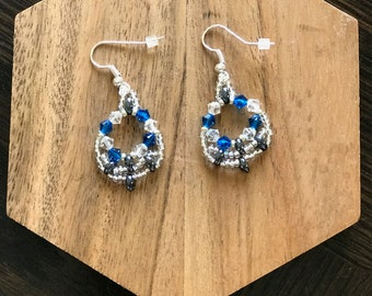 Azure Cloud Earrings