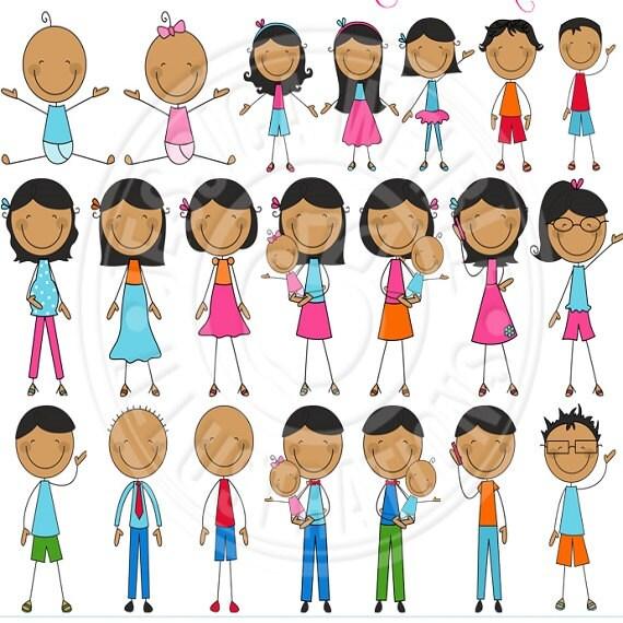 cartoon family