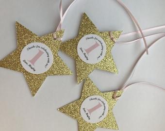 Twinkle Twinkle Little Star baby shower favor tag, Little star first birthday favor tags, Twinkle Twinkle Little Star Decorations