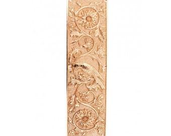 Brigand Abbey Solid brass ornate fingerplate