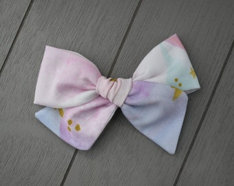 Watercolor hand tied bow