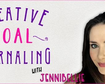 Creative Goal Journaling Class by Jennibellie