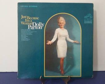 Very Rare! - Dolly Parton - Just Because I'm A Woman - Circa 1968