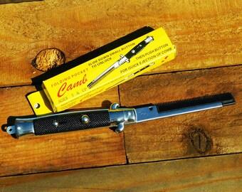 Vintage Switchblade Comb