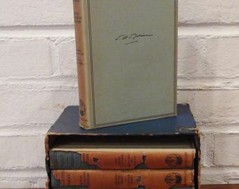1927 Set of Edwin Arlington Robinson Poetry Books / Book Jackets / Macmillan Company, New York / Set of 5 Books
