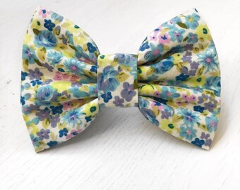 Bluebell Blossom Dog Bow Tie