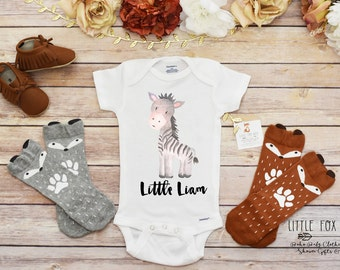 Safari onesie etsy personalized baby gift negle Image collections