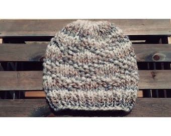 Bulky Etta Hat-Fossil (Ready To Ship)